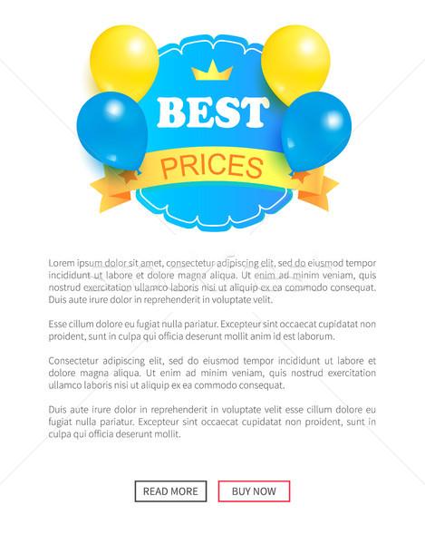 специальный скидка уик-энд продажи лучший шаров Сток-фото © robuart