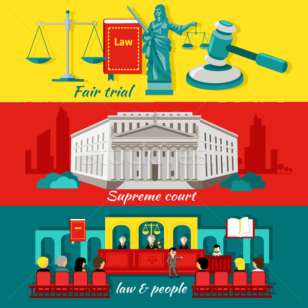 Concept High Court and Justice Stock photo © robuart
