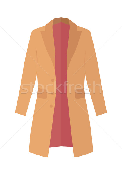 Winter, Autumn Coat or Trench Coat Stock photo © robuart
