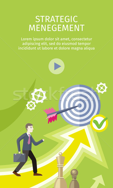 Strategic Management Concept Vector Illustration Stock photo © robuart