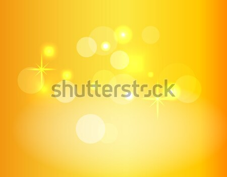 Gradient Vector Background with Sparkles and Bokeh Stock photo © robuart