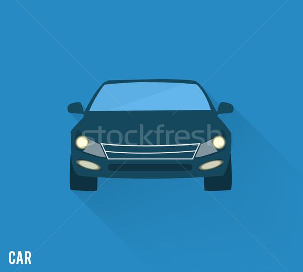 Stock photo: Car icon
