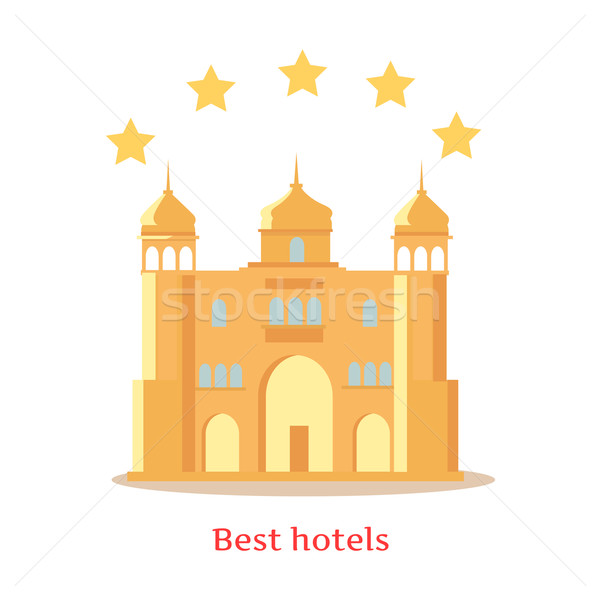 Best Five Stars Indian Hotels Concept Stock photo © robuart