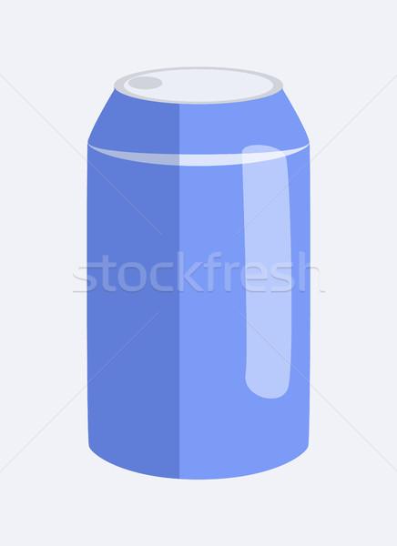 можете соды напиток бутылку алюминий Сток-фото © robuart