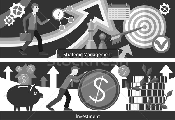 Business Consulting Investment Strategic Managment Stock photo © robuart