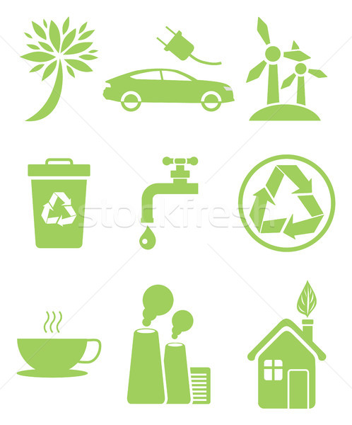 Recycling Agitation, Stop Pollution, Water Economy Stock photo © robuart