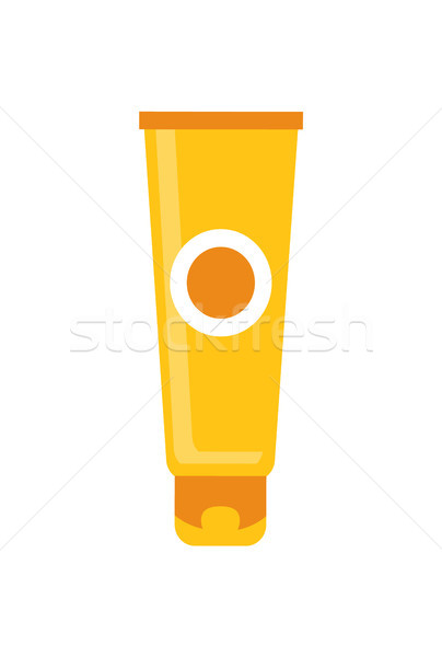 Colorful Template of Vial Vector Illustration Stock photo © robuart