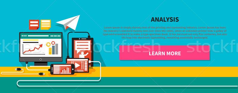 Analysis Concept Stock photo © robuart