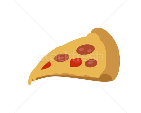 Pizza banner italiano queso tomate Foto stock © robuart