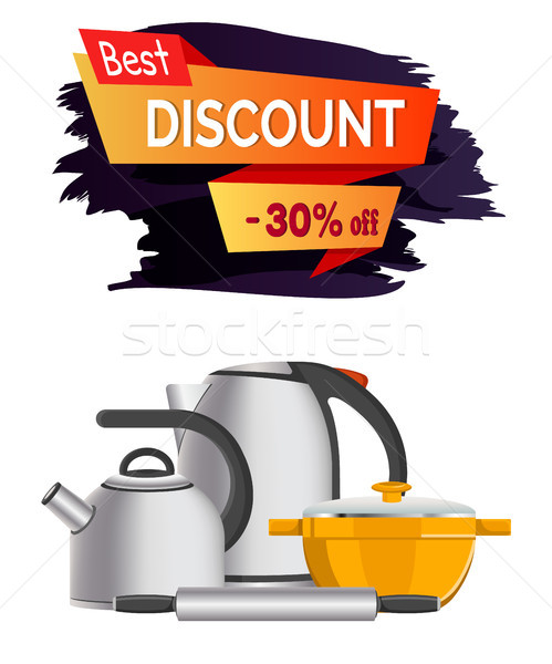 Best Discount -30 Clearance Vector Illustration Stock photo © robuart