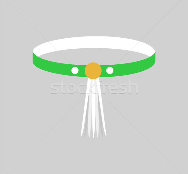 Beautiful Bangle with Yellow Clip, Colorful Card Stock photo © robuart
