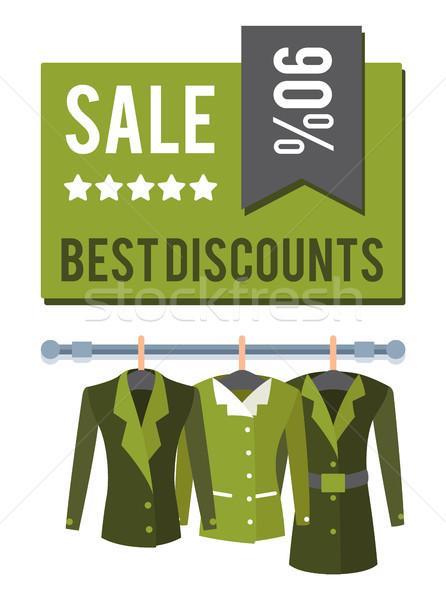 Vásár akció legjobb el címke árengedmény Stock fotó © robuart