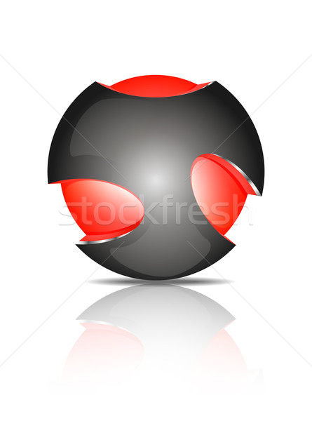 Abstract 3d sphere logos Stock photo © robuart