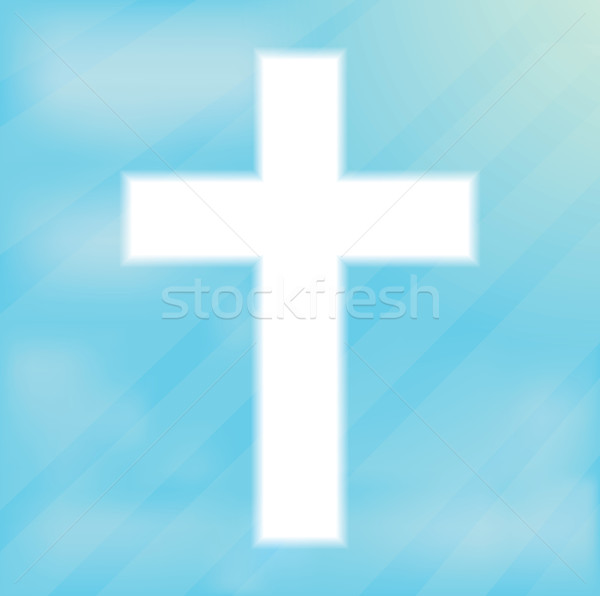 Sign of the Cross, Christianity Stock photo © robuart