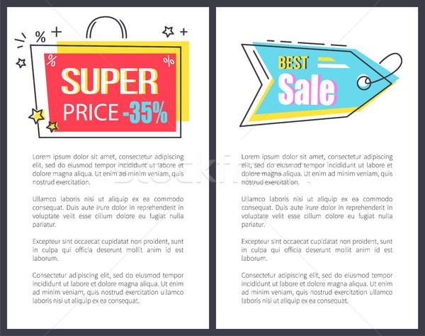 Super prezzo migliore vendita promo Foto d'archivio © robuart