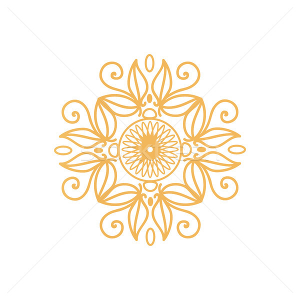 Filigrana certificado sello diseno dorado colores Foto stock © robuart