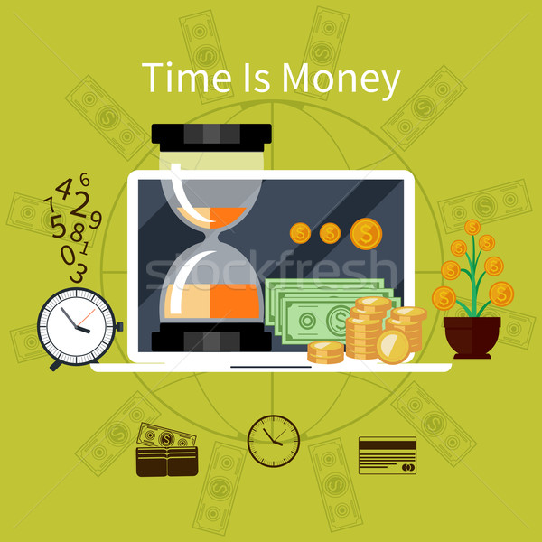 Time is money concept Stock photo © robuart