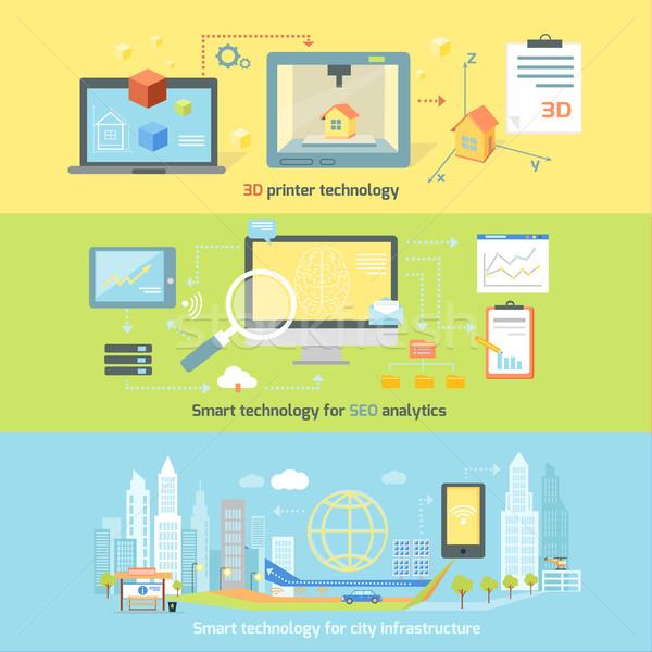 Stock photo: Concept Smart Innovation Technology