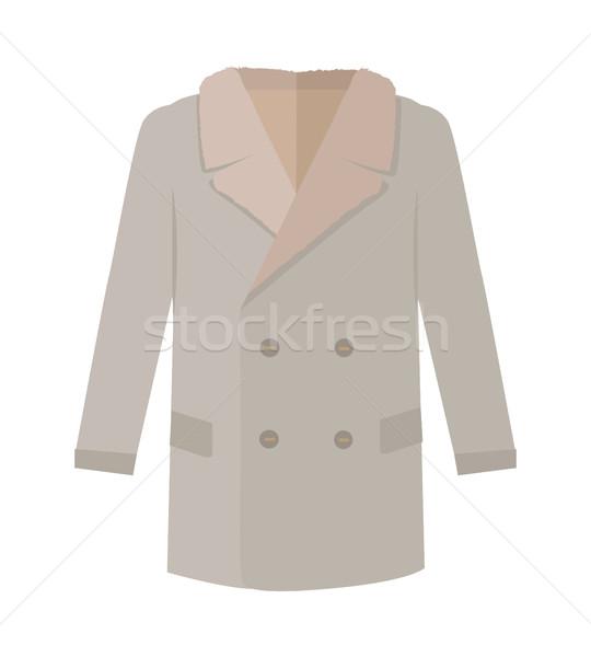 コート スタイル アイコン 日常 服 ストックフォト © robuart