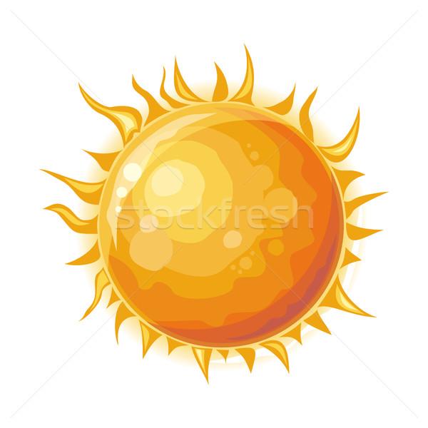 солнце изолированный звездой центр Солнечная система идеальный Сток-фото © robuart