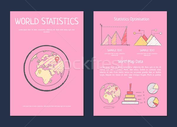 World Statistics Optimization Process Methods Stock photo © robuart