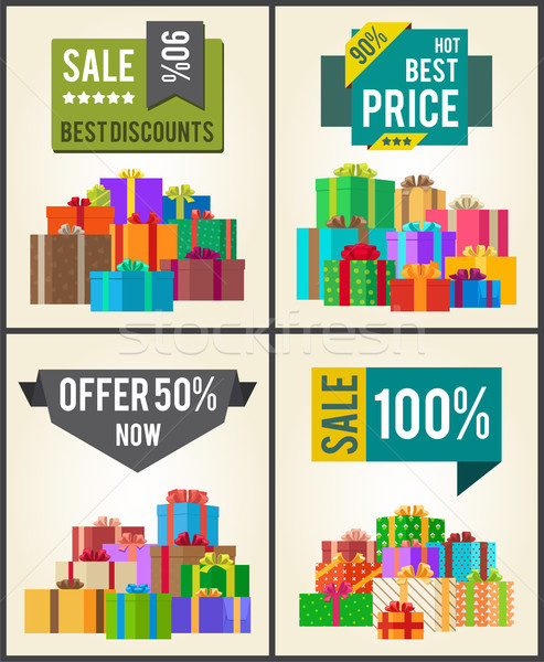 Sale Best Discounts Super Prices Offer 50 Now Stock photo © robuart