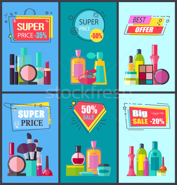 Best Offer for Decorative and Medical Cosmetics Stock photo © robuart
