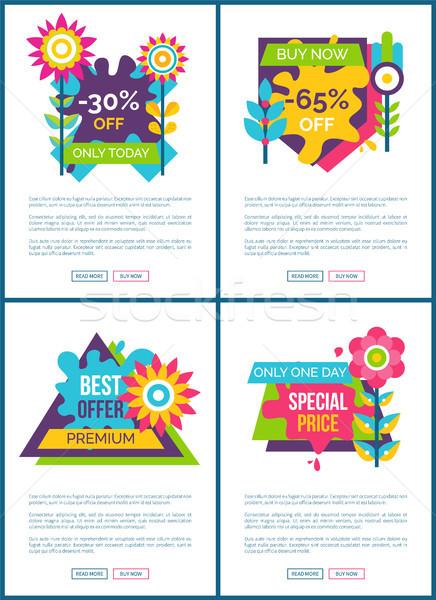 Migliore offrire speciale prezzo promo web Foto d'archivio © robuart