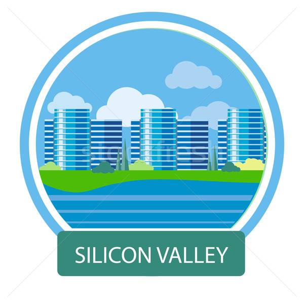 Office building in Silicon Valley Stock photo © robuart