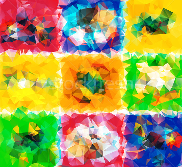 Abstract Geometric Background Stock photo © robuart