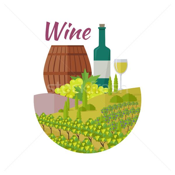 Wijn club kwaliteit collectie Stockfoto © robuart