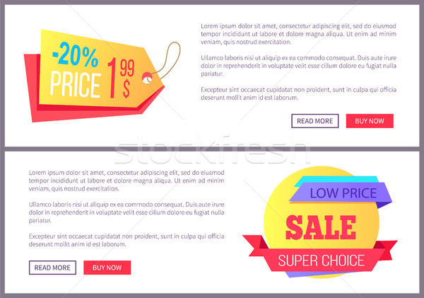 Ingesteld verkoop om nu web Stockfoto © robuart