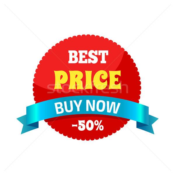 Beste prijs 50 sticker gebruikt mensen Stockfoto © robuart