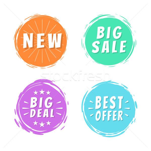 új nagy vásár legjobb ajánlat üzlet Stock fotó © robuart