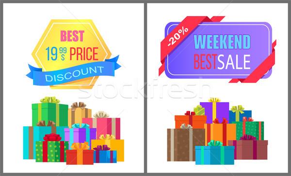 Best prijs korting weekend verkoop speciaal Stockfoto © robuart