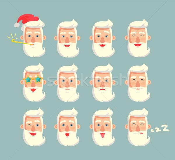 祖父 セット 頭 おじいちゃん 着用 ストックフォト © robuart