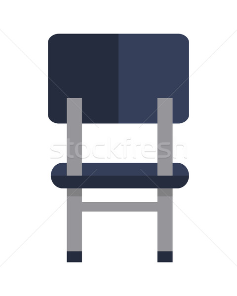 Office Chair Icon Symbol Isolated on White. Stock photo © robuart
