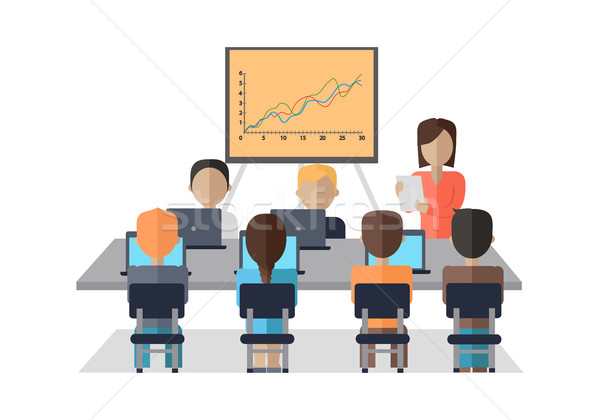 Stock photo: Business Coaching Concept