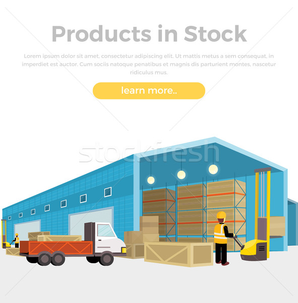 Products in Stock Stock photo © robuart