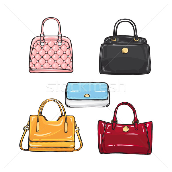 Collection of Different Handbags for Women Stock photo © robuart