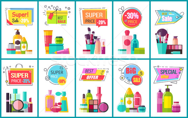 Best Sale for Decorative and Skincare Cosmetics Stock photo © robuart