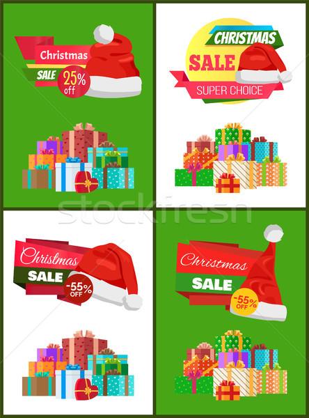 Süper seçim büyük Noel satış Filmi Stok fotoğraf © robuart