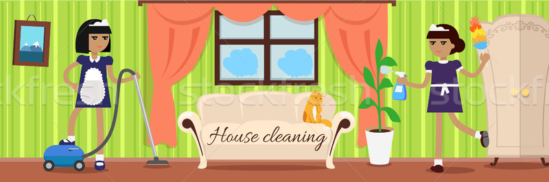 House Cleaning Banner Stock photo © robuart