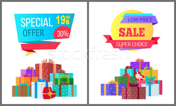 Special Offer Final Price Exclusive Sale Posters Stock photo © robuart