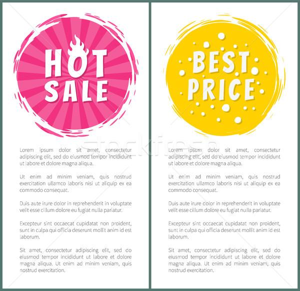 Caliente venta mejor precio elección establecer Foto stock © robuart