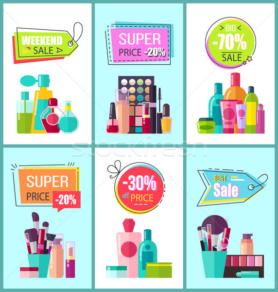 Super Price for Decorative and Medical Cosmetics Stock photo © robuart