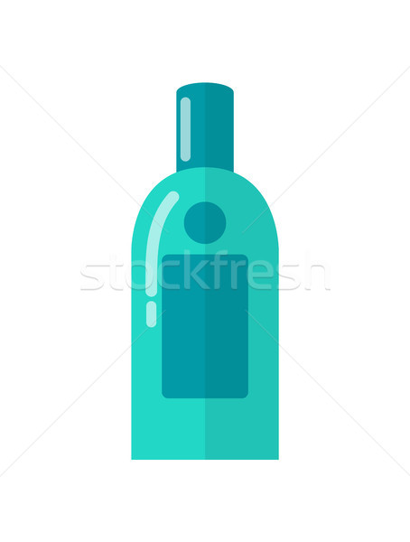 Micellar Water for Skincare in Blue Plastic Bottle Stock photo © robuart