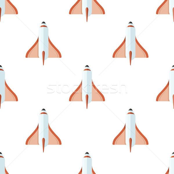 Geïsoleerd witte astrologisch behang ontwerp Stockfoto © robuart