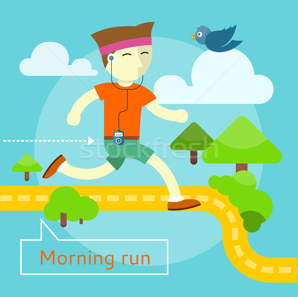 Morning Run Concept Stock photo © robuart