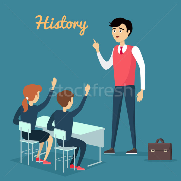 Subject of History Education Conceptual Banner Stock photo © robuart